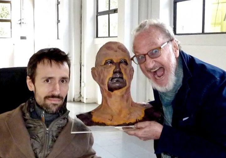 Paolo Prevosto and Robert Englund
